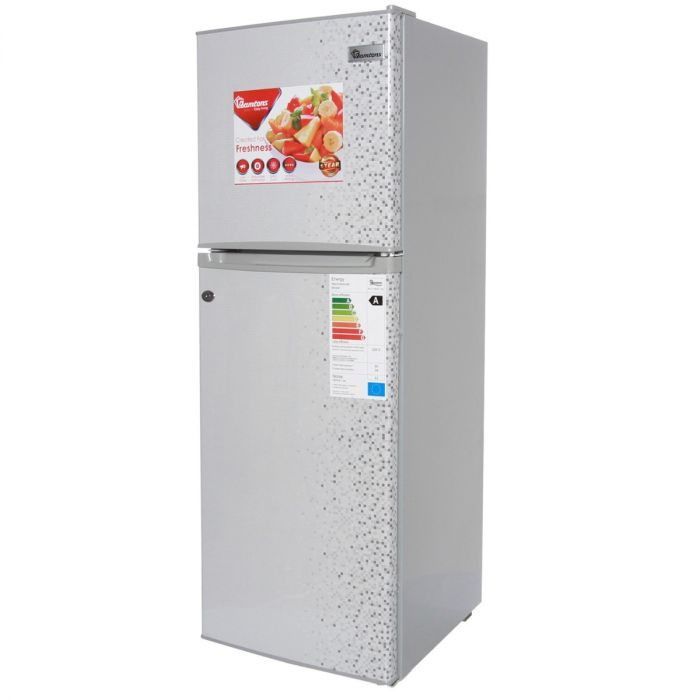 128 LITERS 2 DOOR DIRECT COOL FRIDGE, MAR SILVER- RF/171
