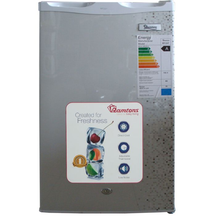 90 LITERS SINGLE DOOR FRIDGE, MAR SILVER- RF/247