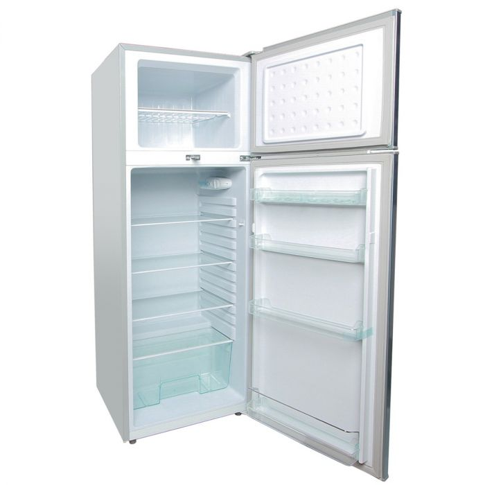 213 LITERS 2 DOOR DIRECT COOL FRIDGE, MAR SILVER- RF/244