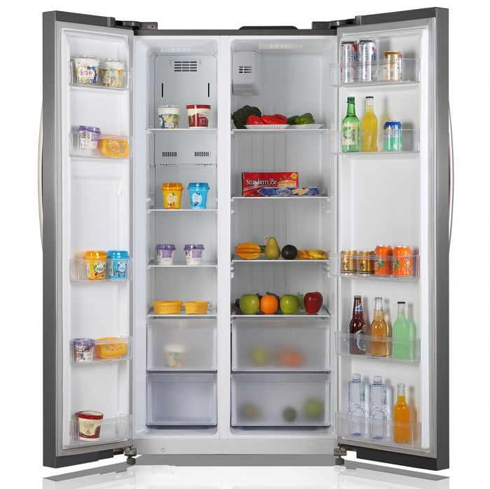 527 LITERS SIDE BY SIDE LED FRIDGE- RF/265
