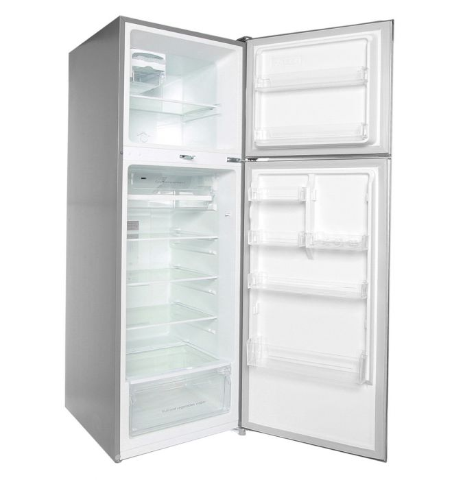 252 LITRES DOUBLE DOOR NO FROST FRIDGE, SILVER- RF/282