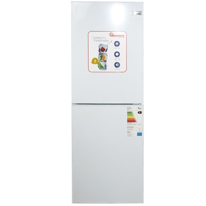 196 LITERS COMBI FRIDGE, WHITE- RF/288