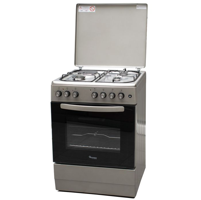 Ramtons Cooker RF/410 in Kenya 3G+1E 60X60 STAINLESS STEEL TOP COOKER