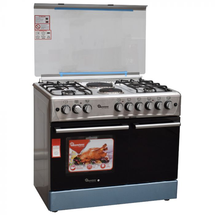 Ramtons Cooker RF/493 in Kenya 4G+2E 90X60 STAINLESS STEEL COOKER