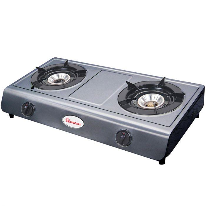 Ramtons Table top gas cooker RG/515 in Kenya STAINLESS STEEL, 2 BURNER, GAS COOKER