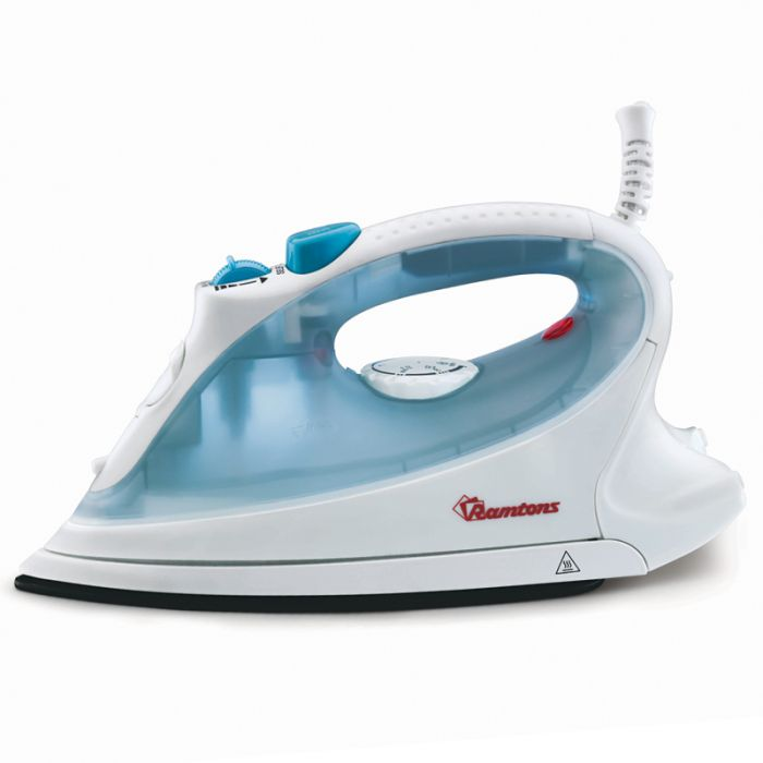 Ramtons Iron box RM/187 in Kenya White and Blue, Steam Iron
