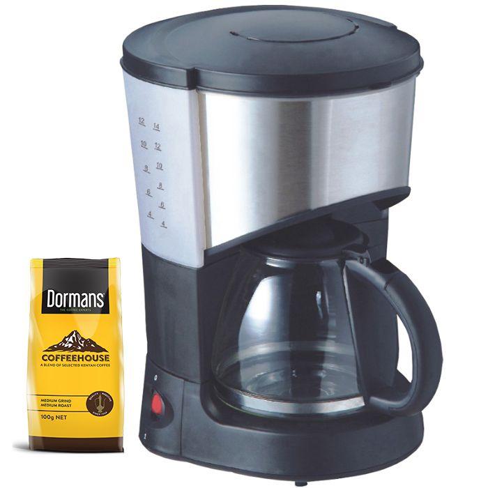Ramtons Coffee maker RM/193 in Kenya BLACK, COFFEE MAKER