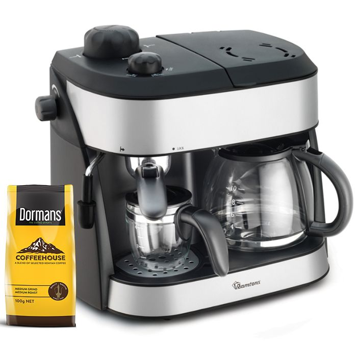 RAMTONS Coffee maker RM/273 in Kenya BLACK, CAPPUCCINO MAKER