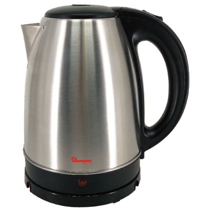 RAMTONS Electric Kettle RM/398 in Kenya Cordless Stainless Steel Kettle 1.7 Litres