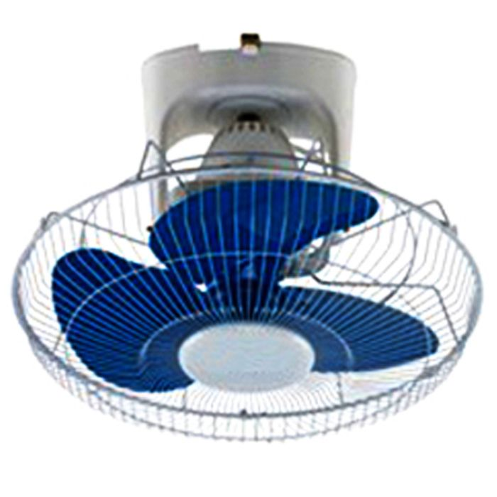 RAMTONS Fan RM/461 in Kenya WHITE AND BLUE, ORBIT FAN, 3 SPEED