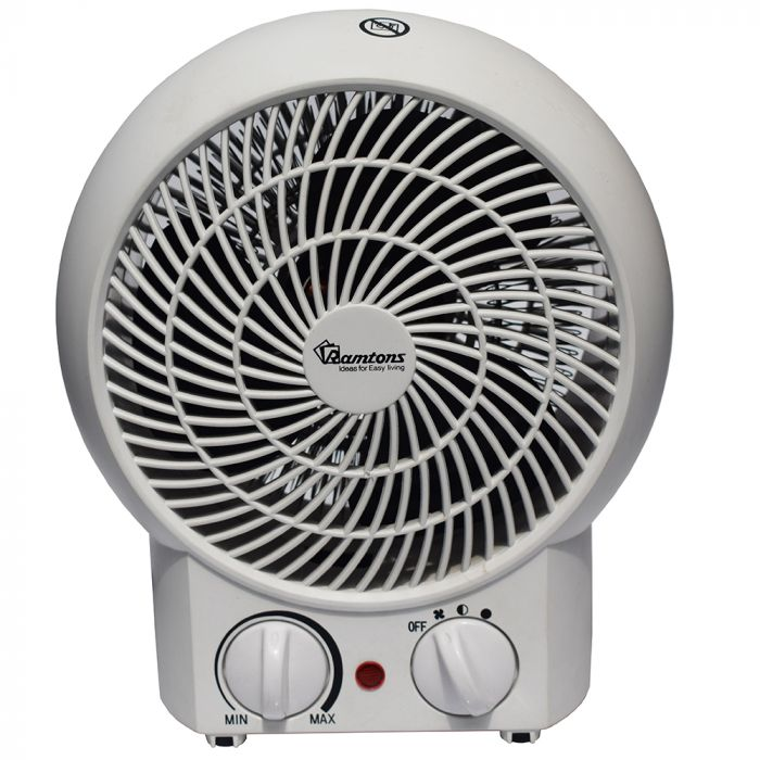 RAMTONS Heater RM/475 in Kenya WHITE, FAN HEATER, 3 HEAT SETTINGS