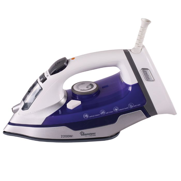 Ramton iron box RM/488 in Kenya WHITE AND PURPLE, CORDLESS IRON