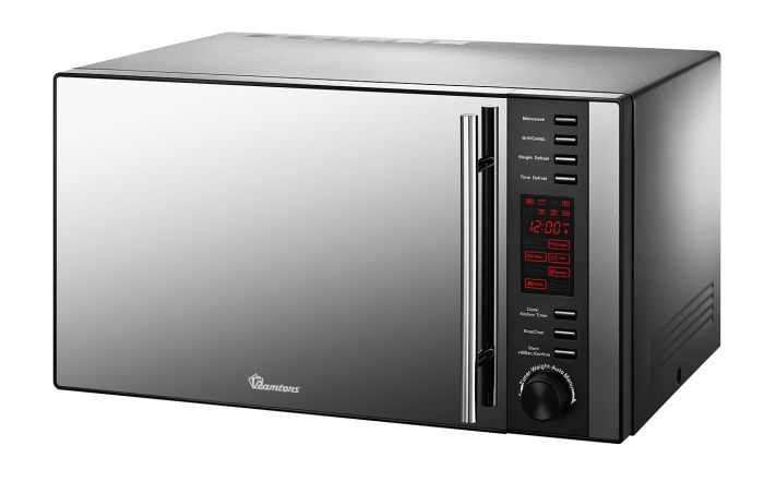 25 LITERS MICROWAVE+GRILL BLACK- RM/326