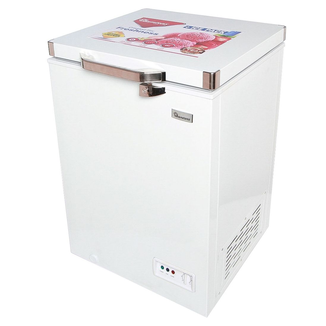 Ramtons Chest Freezer CF/230 in Kenya 93 LITERS ALUMINIUM INTERIOR CHEST FREEZER