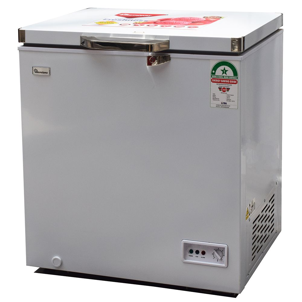 Ramtons Chest Freezer CF/231 in Kenya 140 LITERS CHEST FREEZER, WHITE