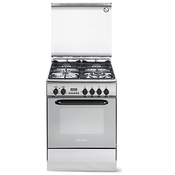 4 GAS STAINLESS STEEL ELBA COOKER- EB/215
