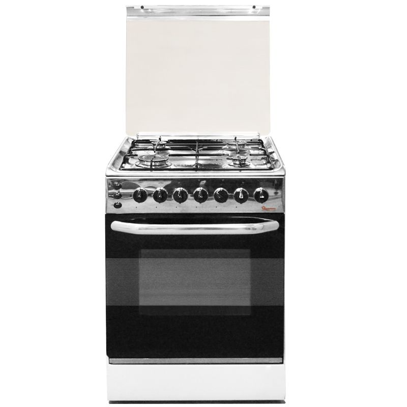 4 GAS 55X55STAINLESS STEEL COOKER 5695- EB/301