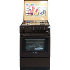 3 GAS + 1 ELECTRIC WHITE ELBA COOKER- EB/124