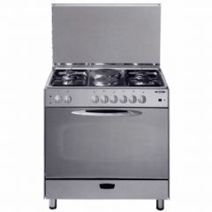 4 GAS+2 ELECTRIC STAINLESS STEEL ELBA COOKER- EB/145