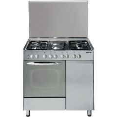 4 GAS+ 2 ELECTRIC + GAS COMPARTMENT STAINLESS STEEL ELBA COOKER- EB/165