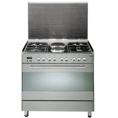 4 GAS+ 2 ELECTRIC STAINLESS STEEL ELBA COOKER- EB/174