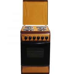 4 ELECTRIC 60X60 WHITE/BROWN/SILVER COOKER- RF/198
