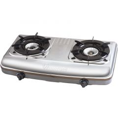GAS COOKER 2 BURNER STAINLESS STEEL- RG/502
