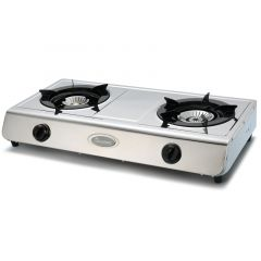 GAS COOKER 2 BURNER STAINLESS STEEL- RG/514