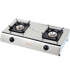GAS COOKER 2 BURNER TEFLON- RG/518