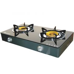 GAS COOKER 2 BURNER CERAMIC TOP- RG/529