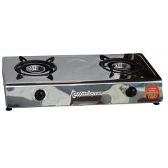GAS COOKER 2 BURNER STAINLESS STEEL- RG/538