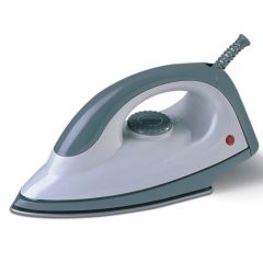 WHITE AND GREEN DRY IRON-RM/180