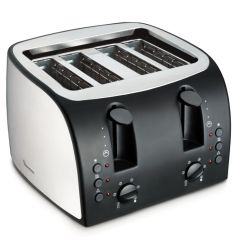 4 SLICE POP UP TOASTER STAINLESS STEEL- RM/195