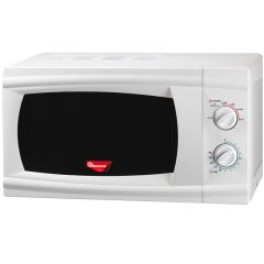 20 LITERS MANUAL MICROWAVE WHITE- RM/206