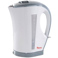 CORDLESS ELECTRIC KETTLE 1.7 LITERS WHITE AND GREY- RM/263