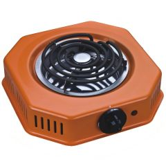 SPIRAL PLATE COOKER  1 BURNER ORANGE- RM/337
