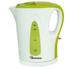 CORDLESS ELECTRIC KETTLE 1.7 LITERS WHITE AND GREEN- RM/349