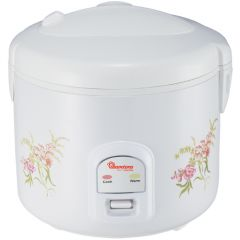 RICE COOKER+STEAMER 1.8 LITERS WHITE- RM/397