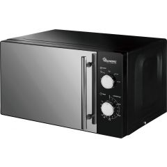 20 LITERS MANUAL MICROWAVE BLACK- RM/459