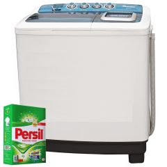 TWIN TUB SEMI AUTOMATIC 8KG WASHER + FREE PERSIL POWDER- RW/115