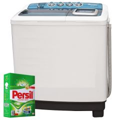 TWIN TUB SEMI AUTOMATIC 10KG/8.5KG WASHER + FREE PERSIL POWDER- RW/116
