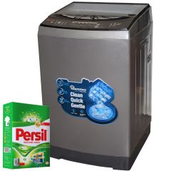 TOP LOAD FULLY AUTOMATIC  MAGIC CUBE 14KG WASHER + FREE PERSIL POWDER- RW/135