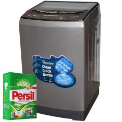 TOP LOAD FULLY AUTOMATIC MAGIC CUBE 12KG WASHER + FREE PERSIL POWDER- RW/136