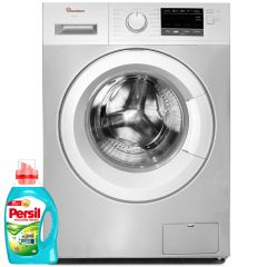 FRONT LOAD FULLY AUTOMATIC 7KG WASHER 1400RPM + FREE PERSIL GEL- RW/144