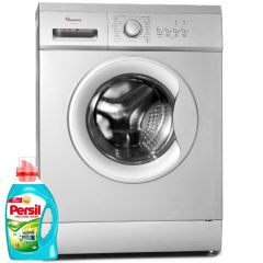 FRONT LOAD FULLY AUTOMATIC 6KG WASHER 1200RPM + FREE PERSIL GEL- RW/145